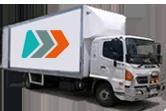 Large Move – 2 Professional Men, 10-12 Tonne Truck